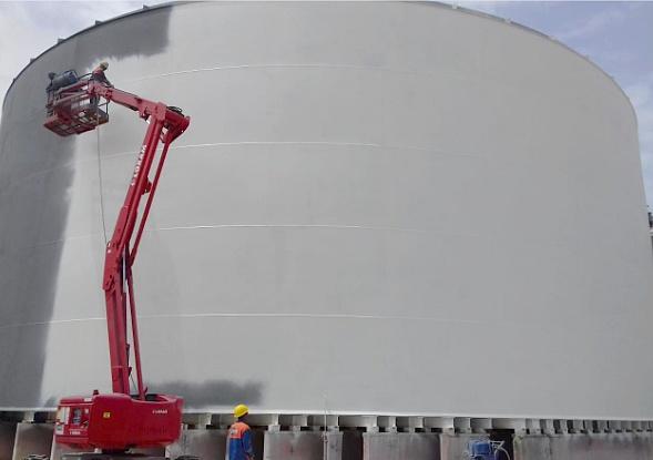 Réservoirs de stockage des hydrocarbures, extension du dépôt SEJ ( AFRIQUIA / TOTAL ) Jorf Lasfar