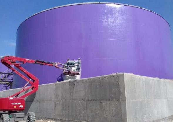 Réfection de peinture des installations du complexe chimie de l'OCP de Safi
